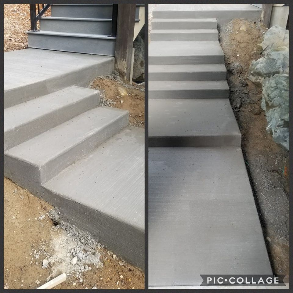 Concrete Steps and Landings