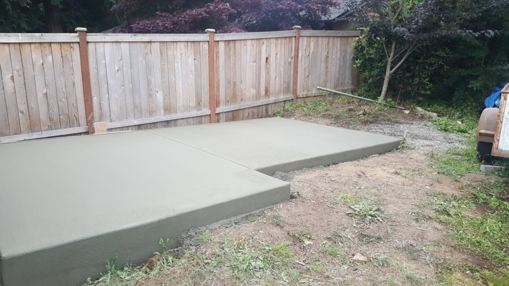 Shed Pad Broom Finish